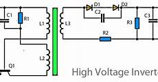 3v to high voltage inverter coll circuit