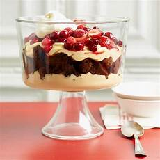 december 2011 recipes gingerbread trifle desserts