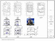 Gambar Denah Untuk Rumah 2 Lantai Minimalis 2