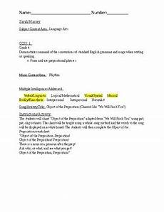 object of the preposition worksheet by mclaintrain tpt