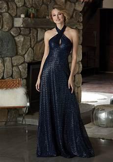 stylish caviar mesh bridesmaid dress with criss cross neckline style 21590 morilee