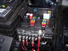 sicherungskasten scirocco 3 batteriekabel