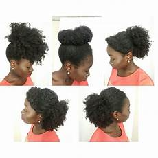 5 simple natural hair styles medium length natural