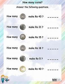 money rupees worksheets 2309 currency grade 2 math worksheets