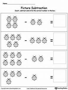 subtraction worksheets beginners 10007 beginning subtraction using pictures subtraction worksheets math worksheets worksheets