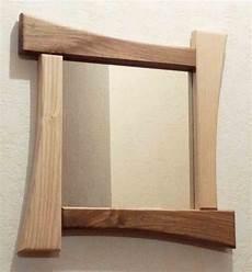 miroir carr 233 en bois