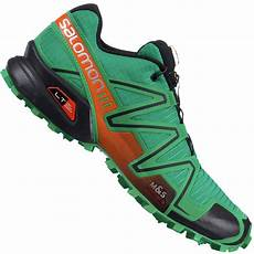 salomon speedcross 3 herren laufschuh real green tomato
