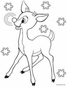 printable rudolph coloring pages for cool2bkids