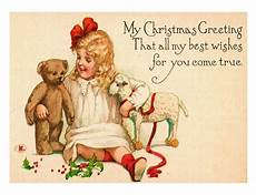 free vintage christmas pictures and cards let s celebrate