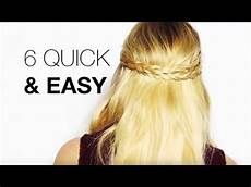 6 quick easy hair extensions hairstyles youtube
