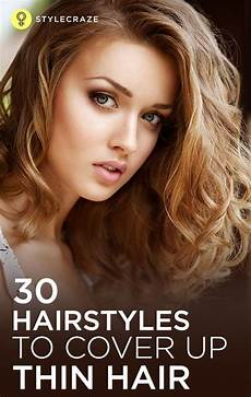 40 stunning hairstyles that make thin hair look thick thin wavy hair curly hair styles thin