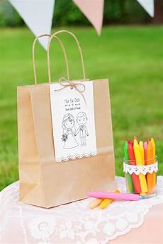 Kleine Geschenke Für Hochzeitsgäste - kindertisch geschenk fuer die kleinen g 228 ste hochzeit