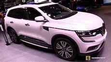 renault koleos 2018 2018 renault koleos exterior and interior walkaround 2017 frankfurt auto show
