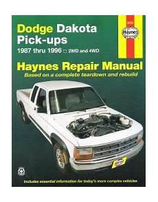 small engine service manuals 1994 dodge ram auto manual 1987 1996 dodge dakota pick ups haynes repair manual