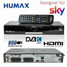 kabel receiver humax pr hd2000c digital kabelreceiver dvb