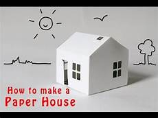 easy way to a paper house youtube
