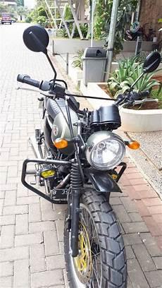 Modif Scrambler Murah by Jual Setang Kawasaki W175 Modif Scrambler Setang Ts