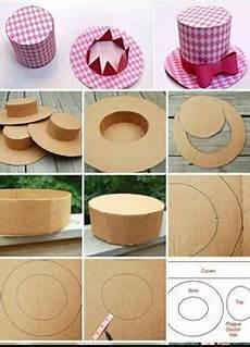 sombrero hecho con algunos materiales reciclados cart 243 n y papel reciclaje pinterest
