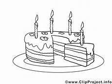 Malvorlagen Kinder Torte Bild Zum Malen Geburtstagstorte