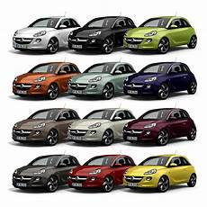 Opel Adam Farben - adam gady family