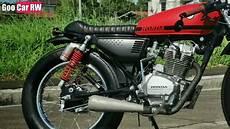 Honda Tmx 125 Modified Cafe Racer