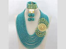 !2016 Latest Fashion Crystal Beads Jewelry Set African