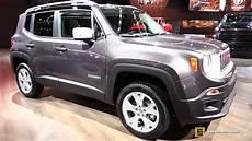 Jeep Renegade Limited - 2017 jeep renegade limited exterior and interior