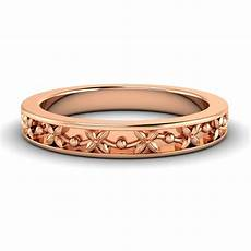 14k rose gold wedding anniversary band ring for s bands without stones
