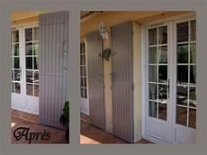 couleur de volets en bois volet bois couleur taupe resine de protection pour peinture