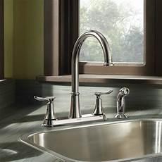 moen solidad kitchen faucet moen solidad chrome two handle high arc kitchen faucet kitchen faucets new york by