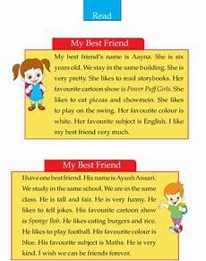 writing skill grade 2 my best friend 2 english writing skills writing skills english