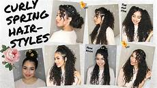7 spring summer hairstyles for naturally curly hair by