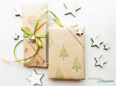 Geschenkpapier Selber Machen Diy Geschenkpapier