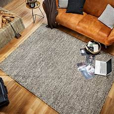 pflegeleichter teppich melhus in grau 70 x 140 cm pflegeleichter flachgewebe von