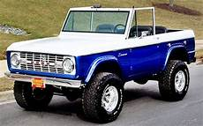 The Past And Future Era Of Ford Bronco Ebay Motors