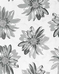 flower wallpaper grey vinyl wallpaper wall covering edem 058 26 retro sweet