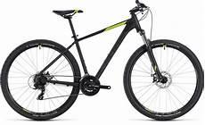 cube aim 27 5 black green 2018 hardtail mountain bike