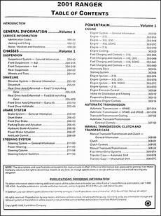 how to download repair manuals 2001 ford f series security system 2001 ford ranger repair shop manual original 2 volume set