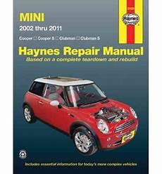 free car repair manuals 2011 mini cooper electronic valve timing 30 51nz book depository mini 2002 thru 2011 haynes repair manual repair manuals clubman