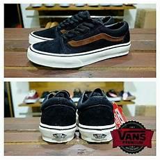 Jual Sepatu Vans Oldskool jual sepatu vans oldskool black brown di lapak novanur14