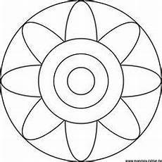 Malvorlagen Mandalas Kindergarten Einfaches Mandala F 252 R Kindergartenkinder Mit Einem Kreis