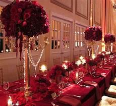 regal royal gold candelabra red roses shaadi