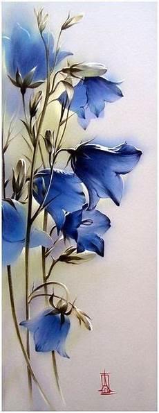 Acryl Malvorlagen Blumen Malerei Aquarell Abstrakt Blumen Abstrakt Abstrakte