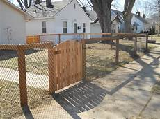 zauntor selber bauen diy chain link fence click to enlarge how to install diy