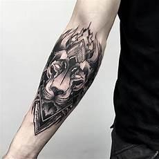 Blackwork Arm Otheser Saketattoocrew