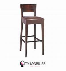 chaise haute moderne chaise haute en bois et simili cuir renoir city mobilier