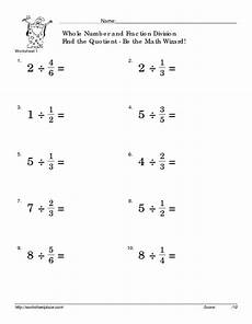 collection of dividing whole numbers worksheets bluegreenish