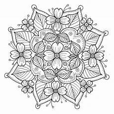 Mandala Blumen - dogwood mandala to color fabric kimmiles spoonflower