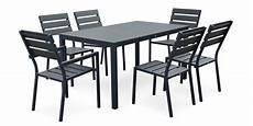 table aluminium jardin table de jardin tout aluminium