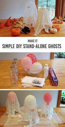 Decorations Diy by Craft Diy Stand Alone Ghosts Modern Parents